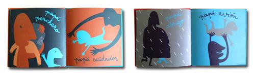 Páginas interiores con ilustraciones de Bernardo Carvalho