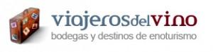 Logo de la cabecera de la web Viajeros del Vino