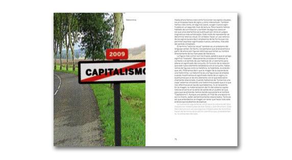 """Página interiores del libro """"Pensar con imágenes"""""""