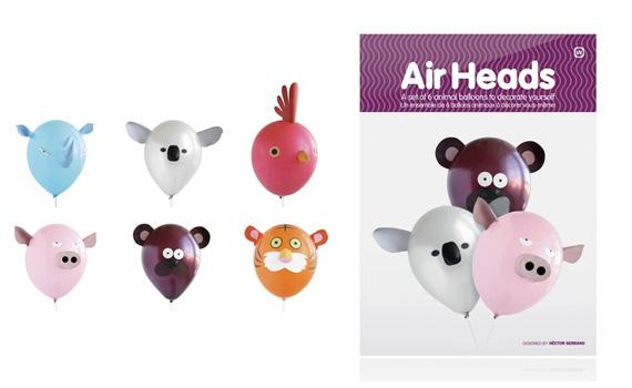 Globos infantiles con forma de animales