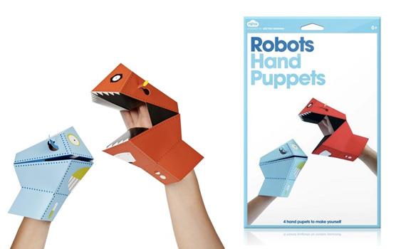 Marionetas de manos para niños