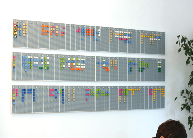 Google calendar lego