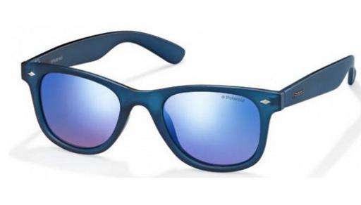 gafas de sol marca Polaroid en color azul