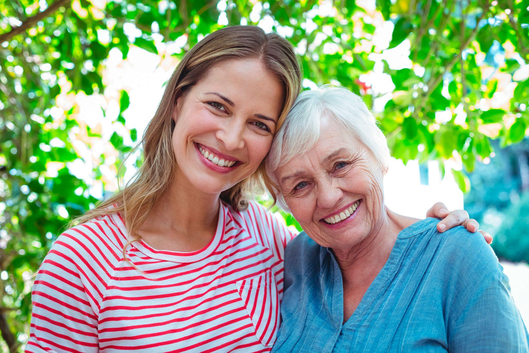 madre e hija el Día de la Madre