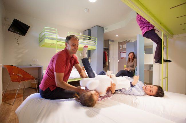 habitación familiar para viajes en familia